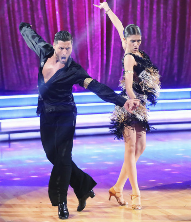 Dancing with the Stars - week 6: Zendaya & Val Chmerkovskiy
