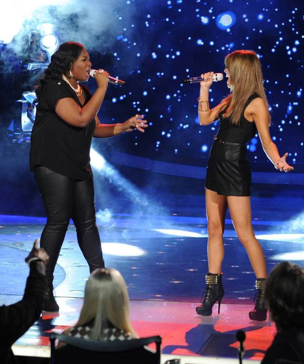 'American Idol' Top 4 performances: Candice Glover and Angie Miller