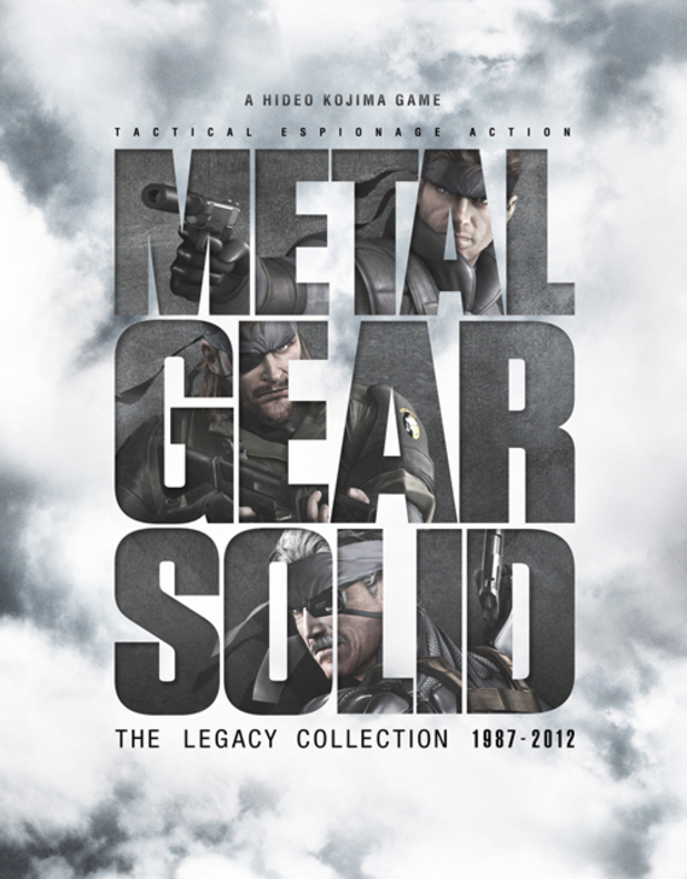 'Metal Gear Solid: The Legacy Collection' artwork