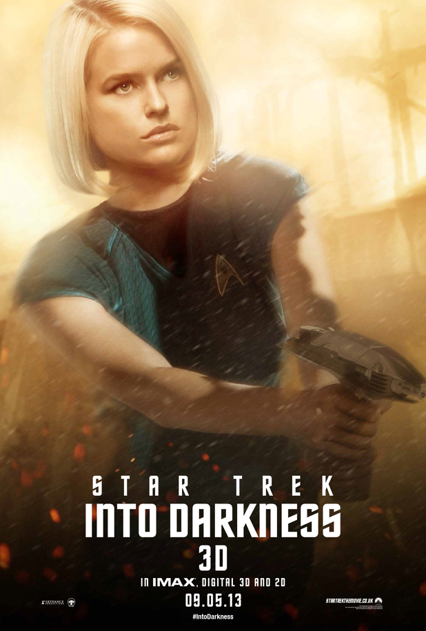 'Star Trek Into Darkness' Carol Marcus poster