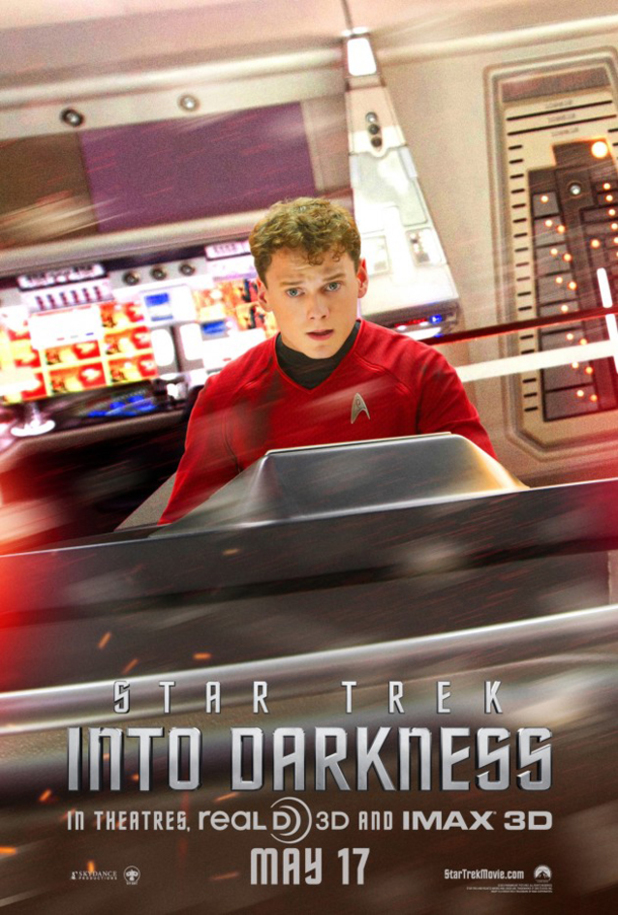 Anton Yelchin as Chekhov in 'Star Trek Into Darkness'