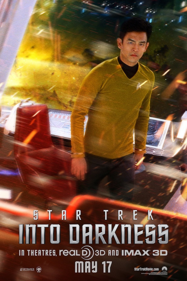 John Cho as Sulu in 'Star Trek Into Darkness'
