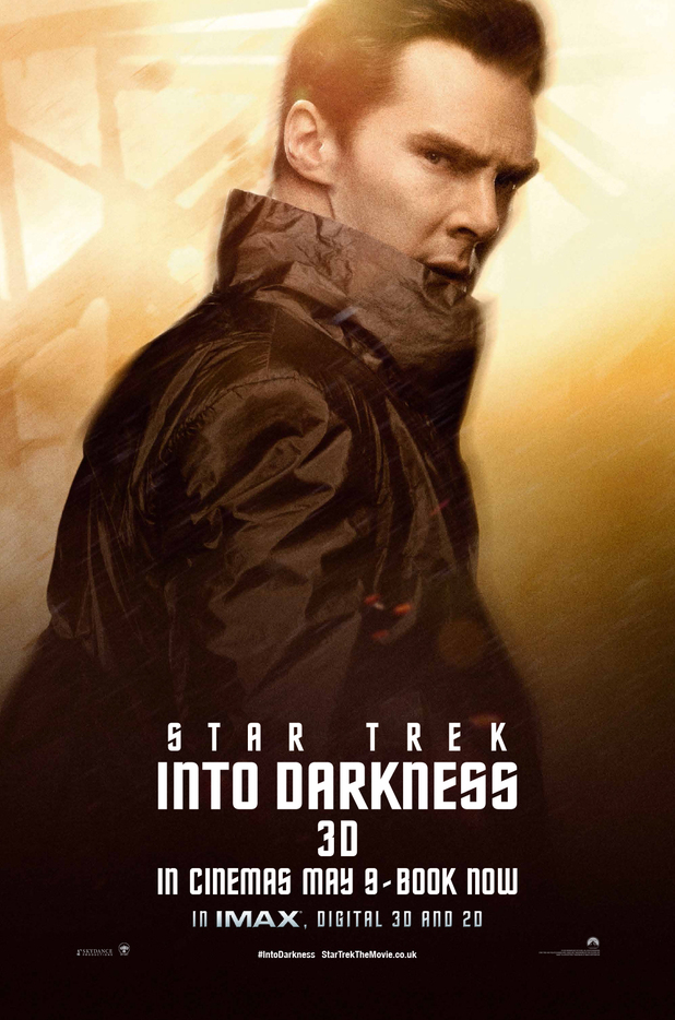 'Star Trek Into Darkness' John Harrison poster