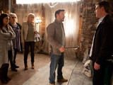 8119: Realising she's no option, Stella breaks the news to Owen about how she can't pay him. Karl tries to stop Owen In his fury as he starts dismantling the pub fittings