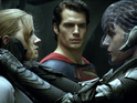 "Amy Adams says Man of Steel co-star has tremendous ""physical presence""."