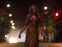 The actress also hopes to see Carrie-themed costumes this Halloween.