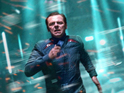 Anton Yelchin and Simon Pegg appear in the latest images from JJ Abrams sequel.