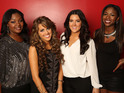 Candice, Angie, Amber and Kree - who will be singing next week?