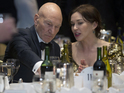Star Trek's Patrick Stewart and singer Sunny Ozell marry in weekend wedding.