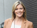 Jane Danson gets nostalgic over Corrie history while on This Morning.