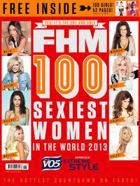 FHM 100 Sexiest Women in the World 2013 - cover