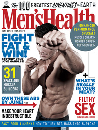 Men's Health's June cover