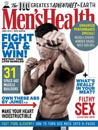 Men's Health's June cover