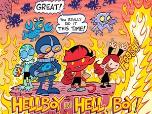 Artwork from &#39;Itty Bitty Hellboy&#39; #1