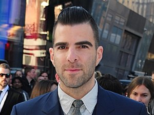 Zachary Quinto arriving for the premiere of Star Trek Into Darkness at the Empire Leicester Square, London.