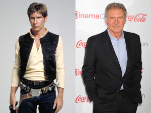 Harrison Ford: Then & Now