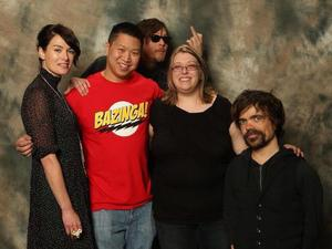 Walking Dead's Norman Reedus photobombs Game of Thrones fans