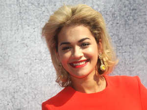 Rita Ora, British Designers Collective: Future Vintage press launch at Bicester Village in Oxfordshire