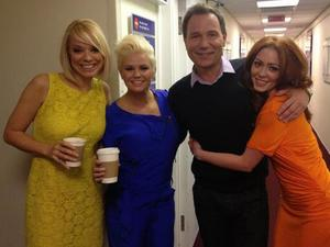 Atomic Kitten with &#39;Daybreak&#39;s Richard Arnold