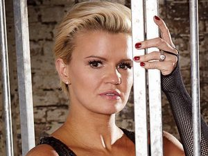 Kerry Katona photo shoot for Now Magazine