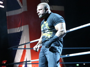 Triple H at WWE Raw at The O2 in London