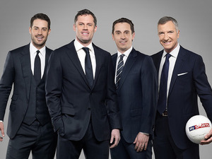 Jamie Carragher joins Redknapp, Eville & Souness on the Sky Sports team