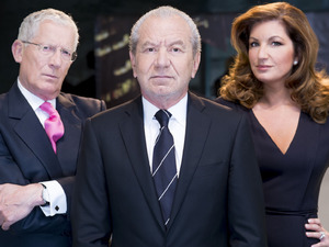 The Apprentice 2013: Lord Sugar, Nick Hewer and Karren Brady