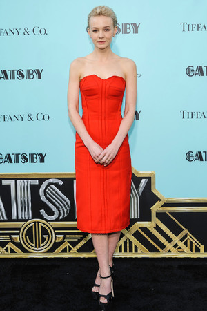 Carey Mulligan, The Great Gatsby, US premiere, Lanvin red dress