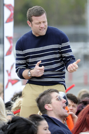 Dermot O'Leary, X Factor auditions Manchester, 2013