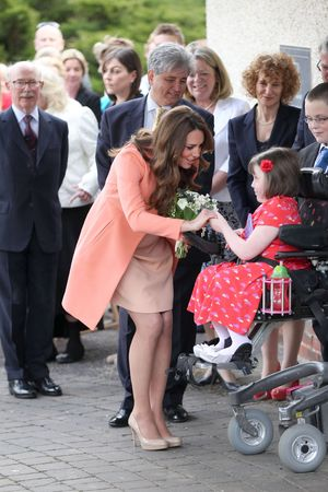 Duchess of Cambridge, Kate Middleton, Catherine Duchess of Cambridge visits Naomi House Children's Hospice, Hampshire, Britain