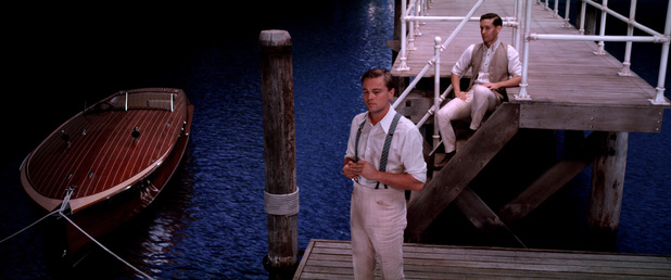 Leonardo DiCaprio Tobey Maguire The Great Gatsby