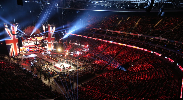 WWE Raw at The O2 in London