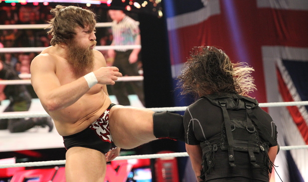 Daniel Bryan & The Shield at WWE Raw at The O2 in London