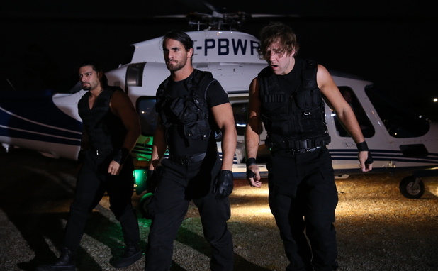 The Shield at WWE Raw at The O2 in London