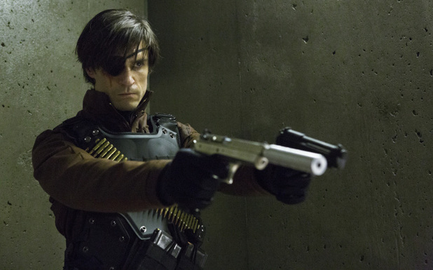 Michael Rowe as Deadshot in Arrow S01E20: 'Home Invasion'