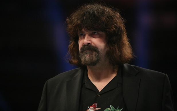 Mick Foley at WWE Raw at The O2 in London