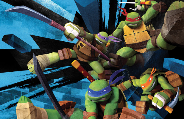 Nickelodeon's 'Teenage Mutant Ninja Turtles'.