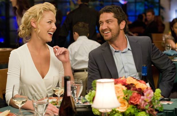Katherine Heigl and Gerard Burler in 'The Ugly Truth'