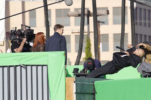 Captain America: The Winter Soldier - set pictures