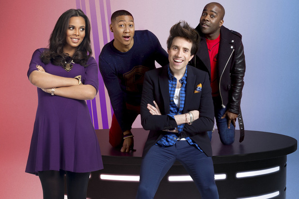 'Sweat The Small Stuf' - Rochelle Humes, Rickie, Nick Grimshaw, Melvin
