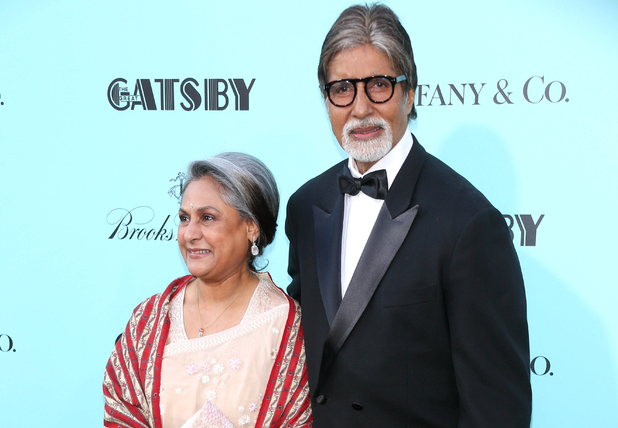 Amitabh Bachchan & his wife Jaya Bhaduri at the premiere of 'The Great Gatsby' in New York