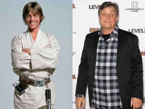 Mark Hamill: Then & Now