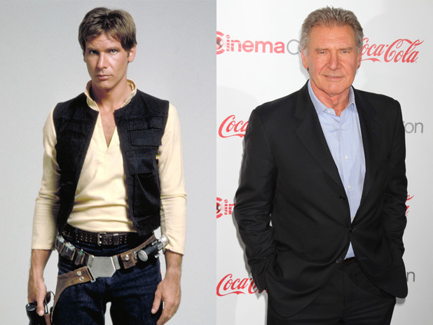 Star Wars actors: Then & now
