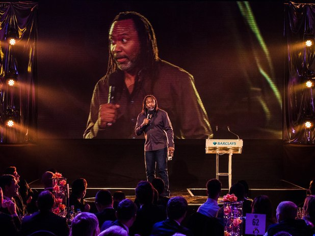 Reginald D Hunter at PFA Awards