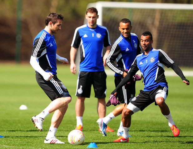Frank Lampard, Ashley Cole, Chelsea FC