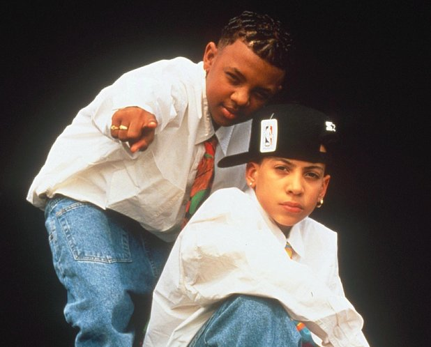 Chris Kelly and Chris Smith in Kris Kross