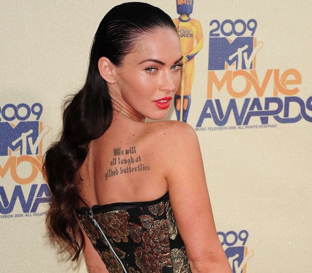 Megan Fox at the MTV Movie Awards 2009