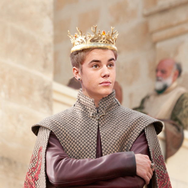 Joffrey Bieber: 5 best pictures of Justin Bieber in 'Game of Thrones'