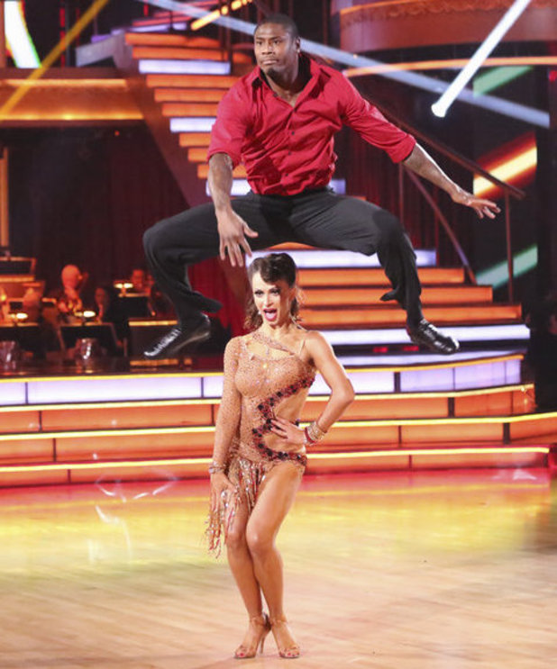 Week 7: Karina Smirnoff and Jacoby Jones