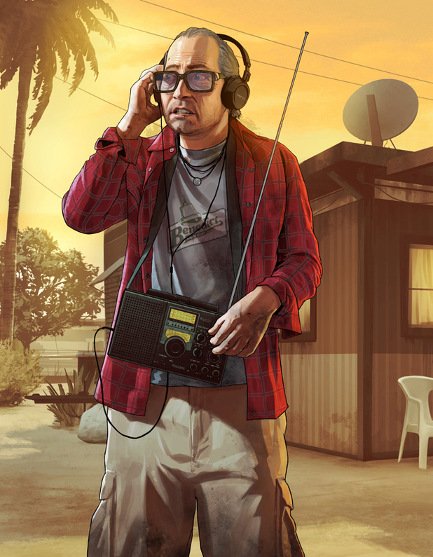 'Grand Theft Auto 5' concept art: Nervous Ron